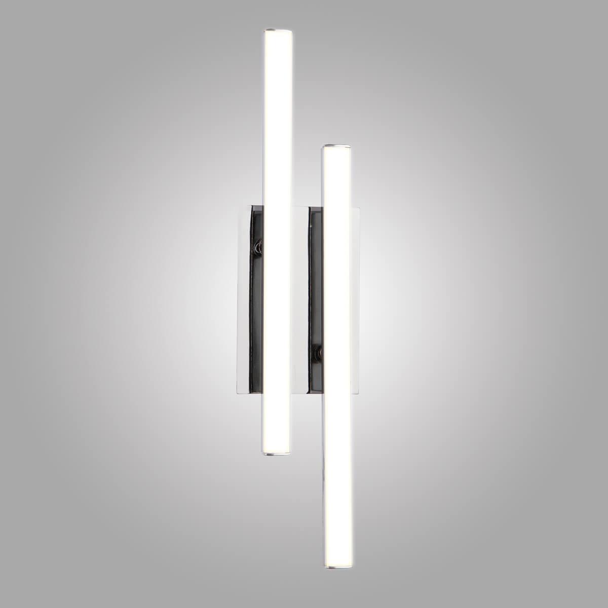 цена на Настенный светодиодный светильник Eurosvet Хай-Тек 90020/2 хром