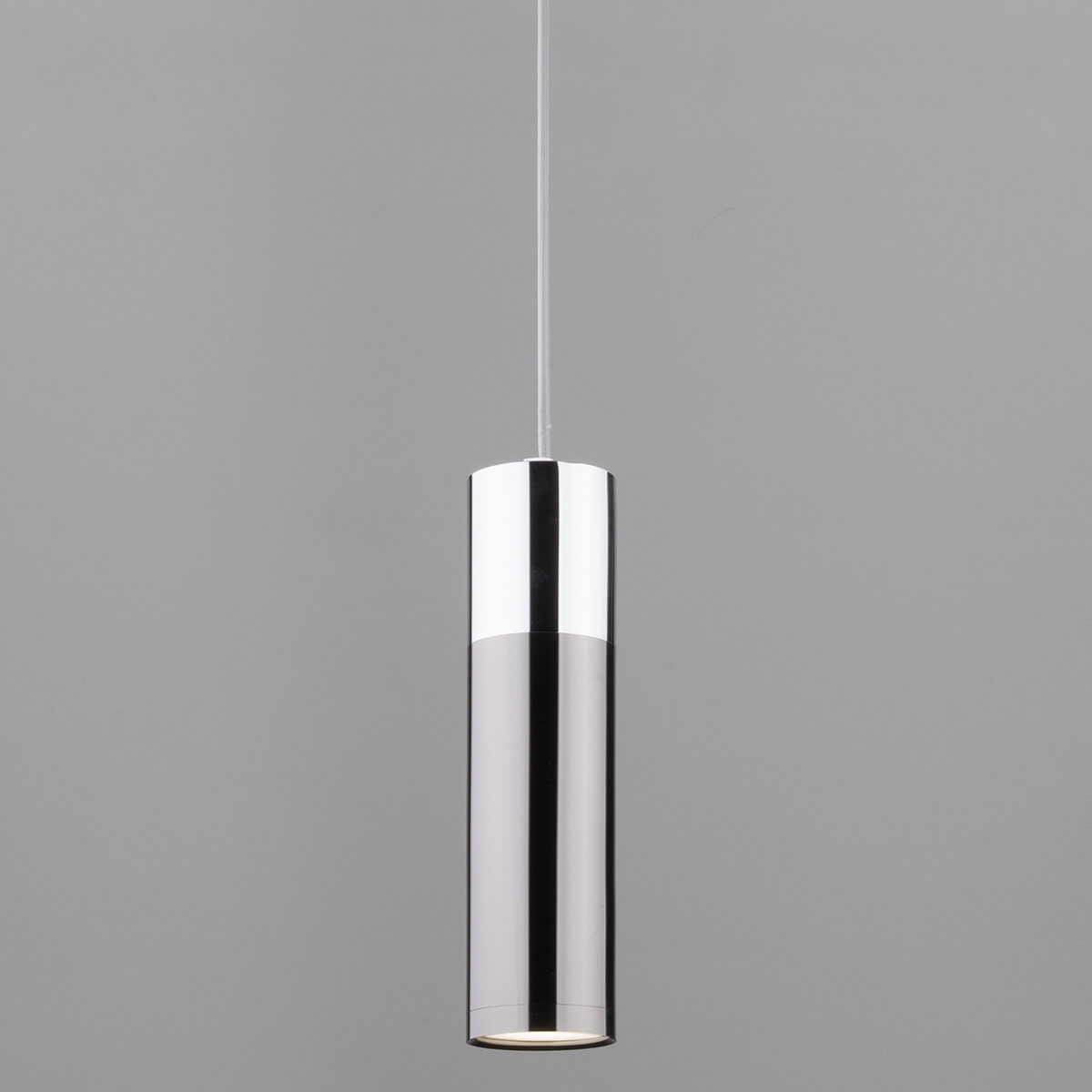 Светильник Eurosvet 50135/1 LED хром/черный жемчуг Double Topper