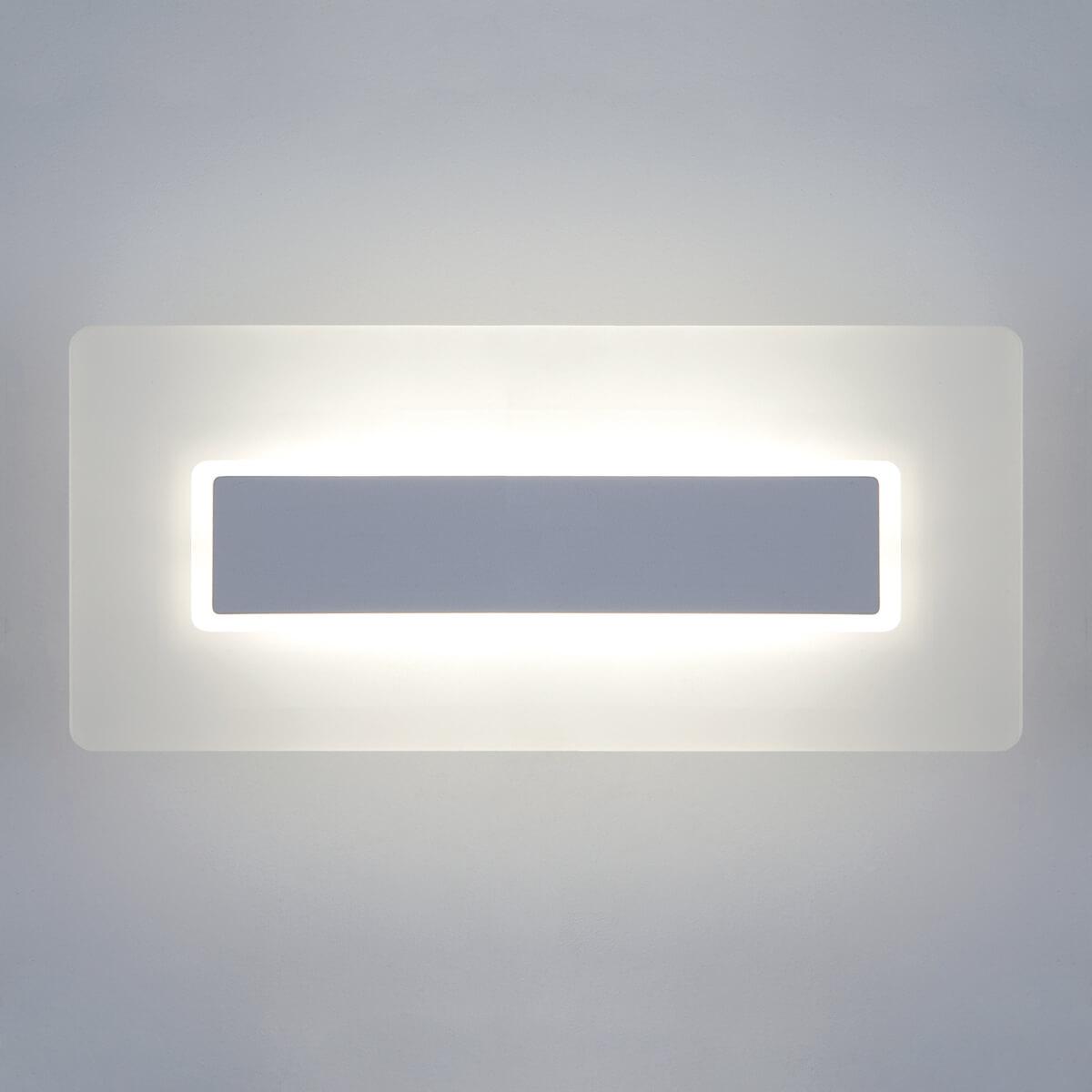 Светильник Eurosvet 40132/1 Led белый Square