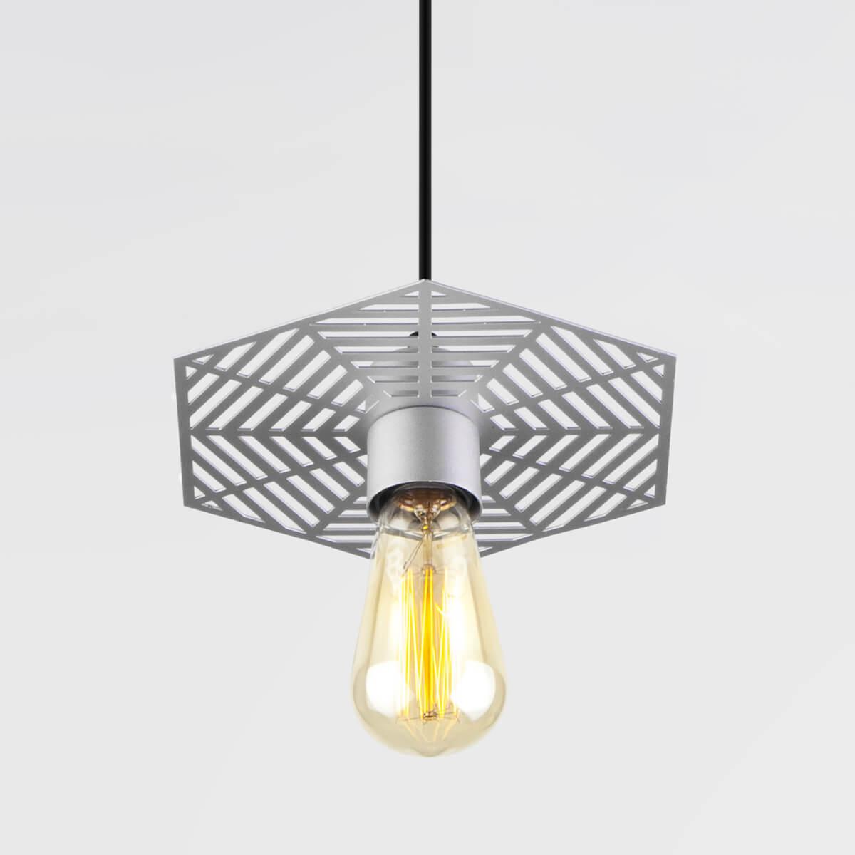 Светильник Eurosvet 50167/1 серебряный Creto