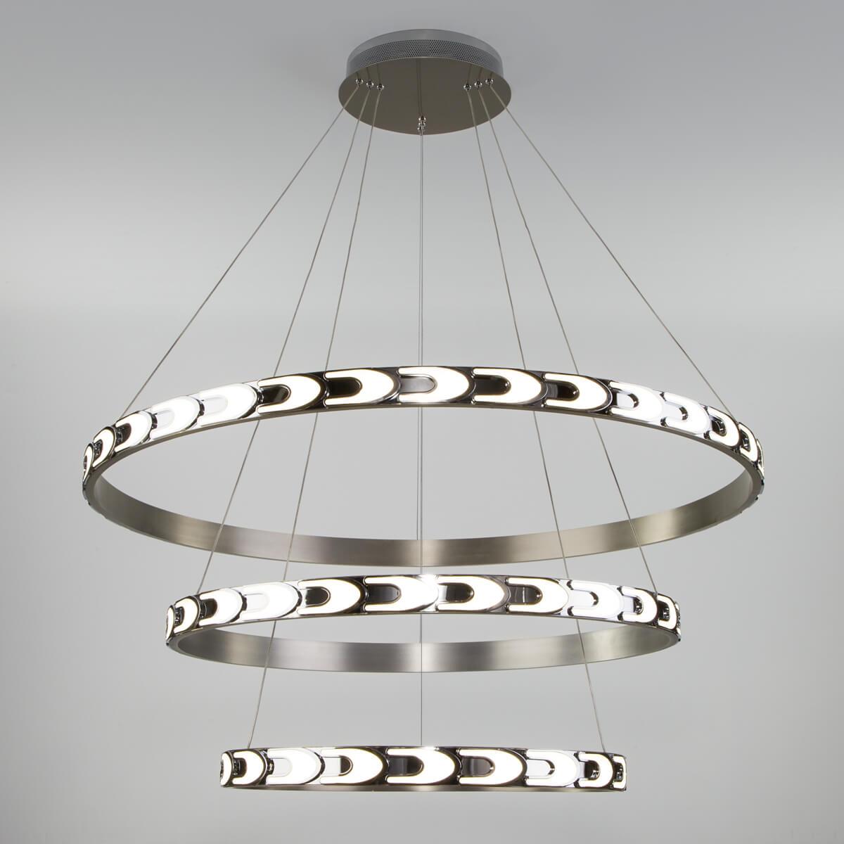 Светильник Eurosvet 90163/3 сатин-никель Chain фото