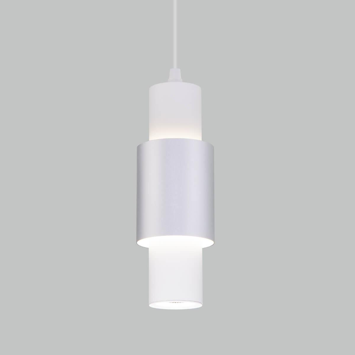 Светильник Eurosvet 50204/1 белый/матовое серебро Bento