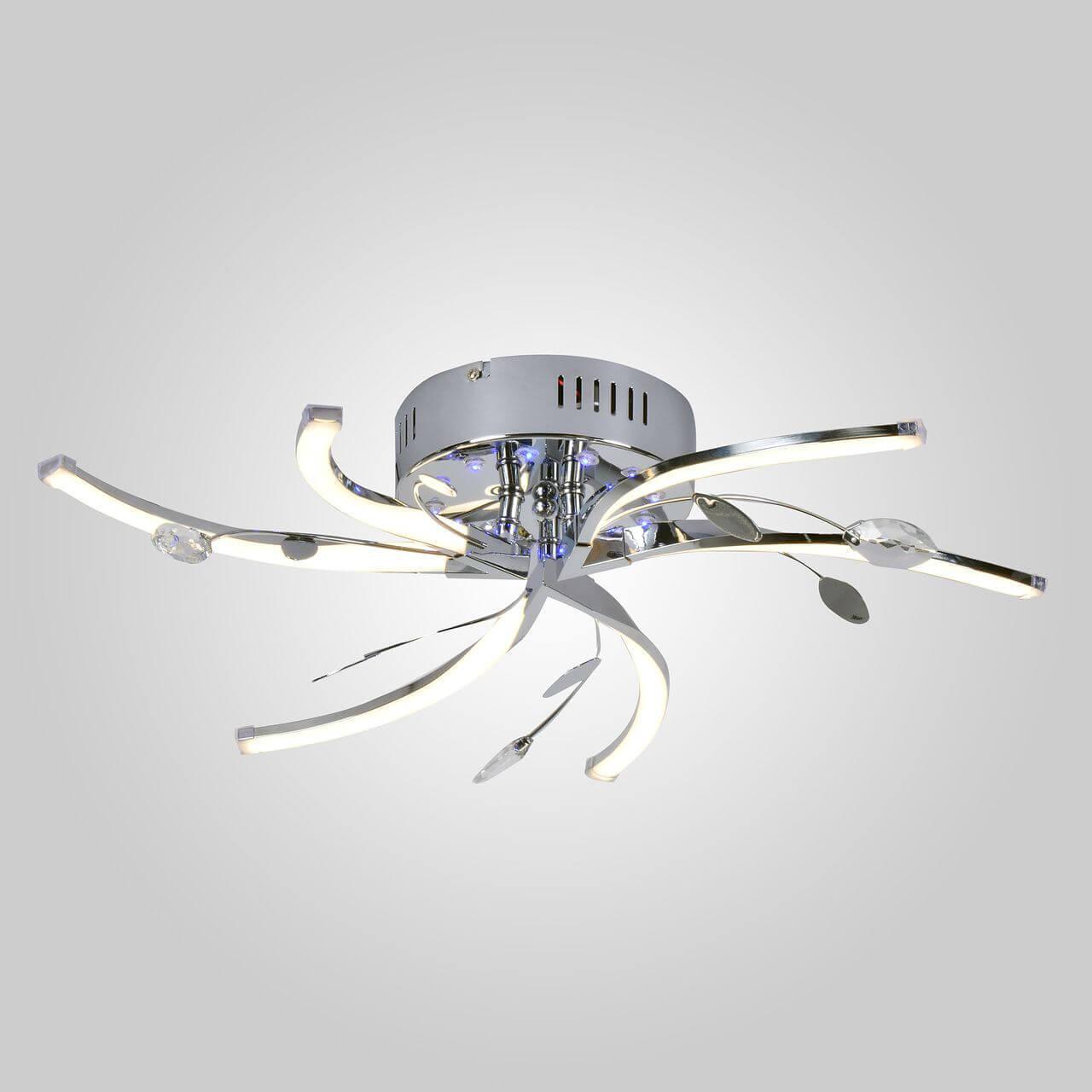 Люстра Eurosvet 90125/6 хром Windmill
