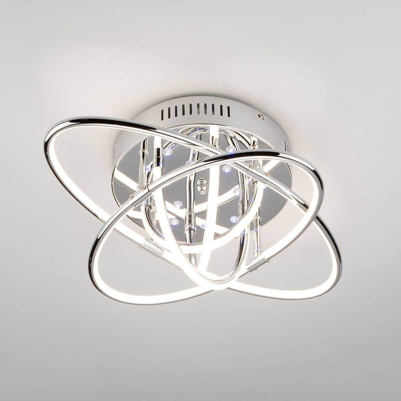 Светильник Eurosvet 90132/7 хром Jupiter цена и фото