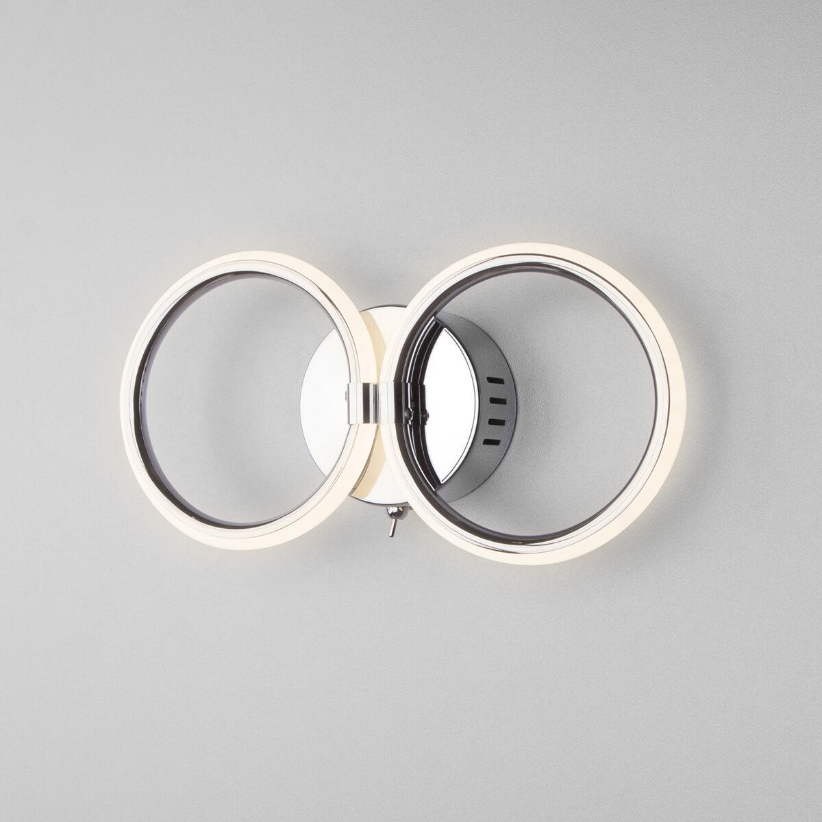 Светильник Eurosvet 90146/2 хром Comfy накладной светильник eurosvet 7077 2 хром