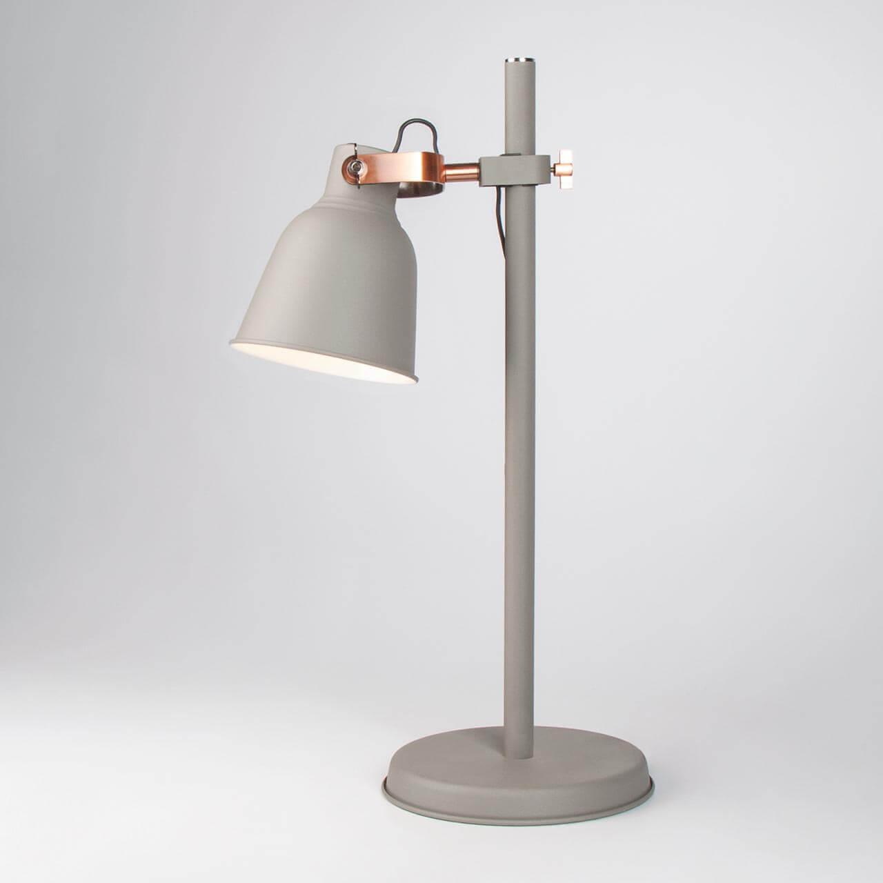 Настольная лампа Eurosvet Projector 01031/1 серый