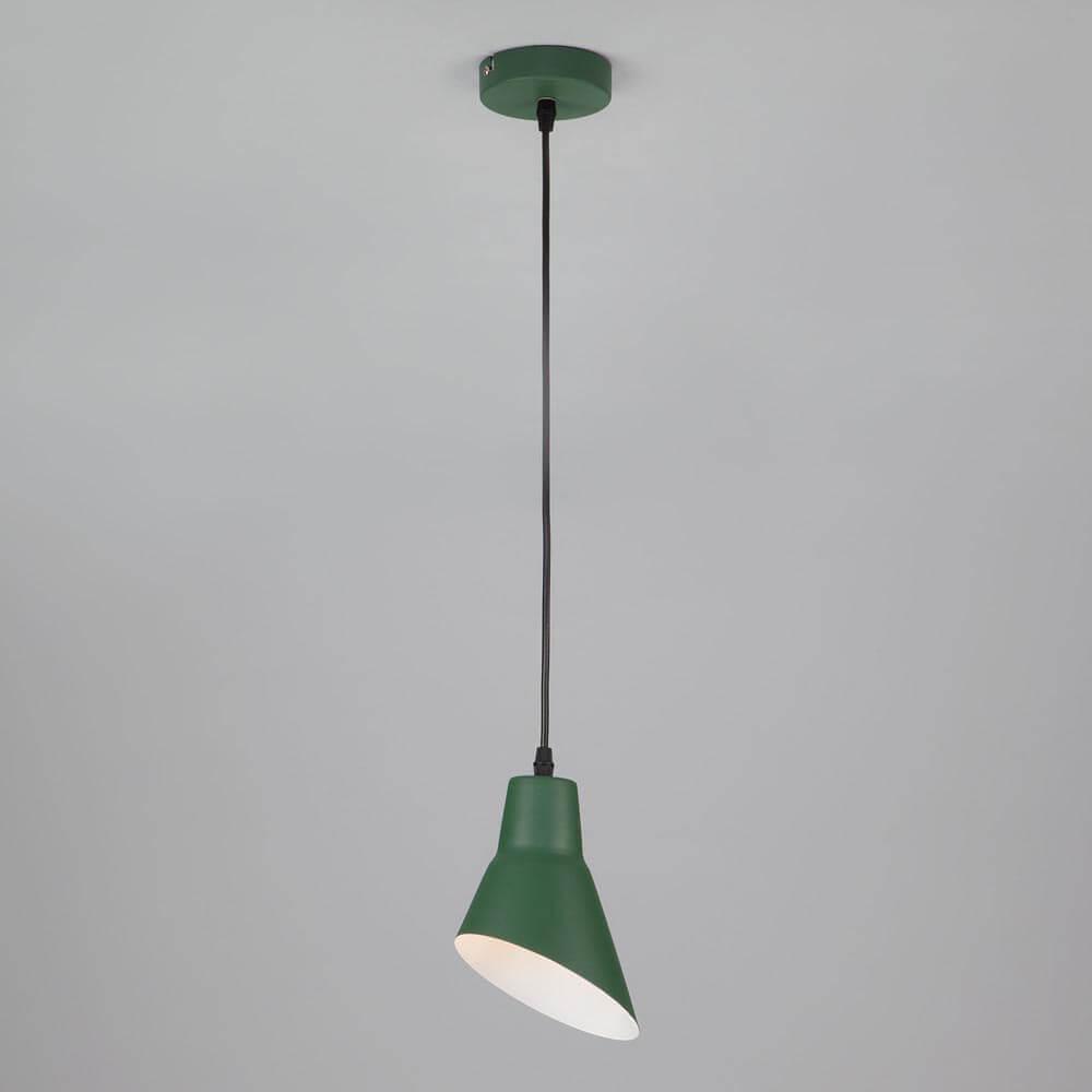 Подвесной светильник Eurosvet Nook 50069/1 зеленый