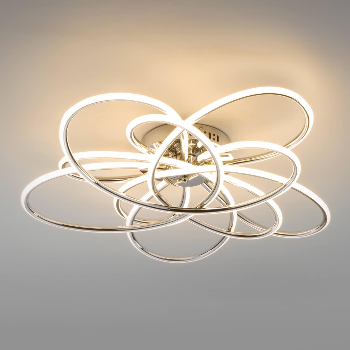 Светильник Eurosvet 90143/5 хром Spring