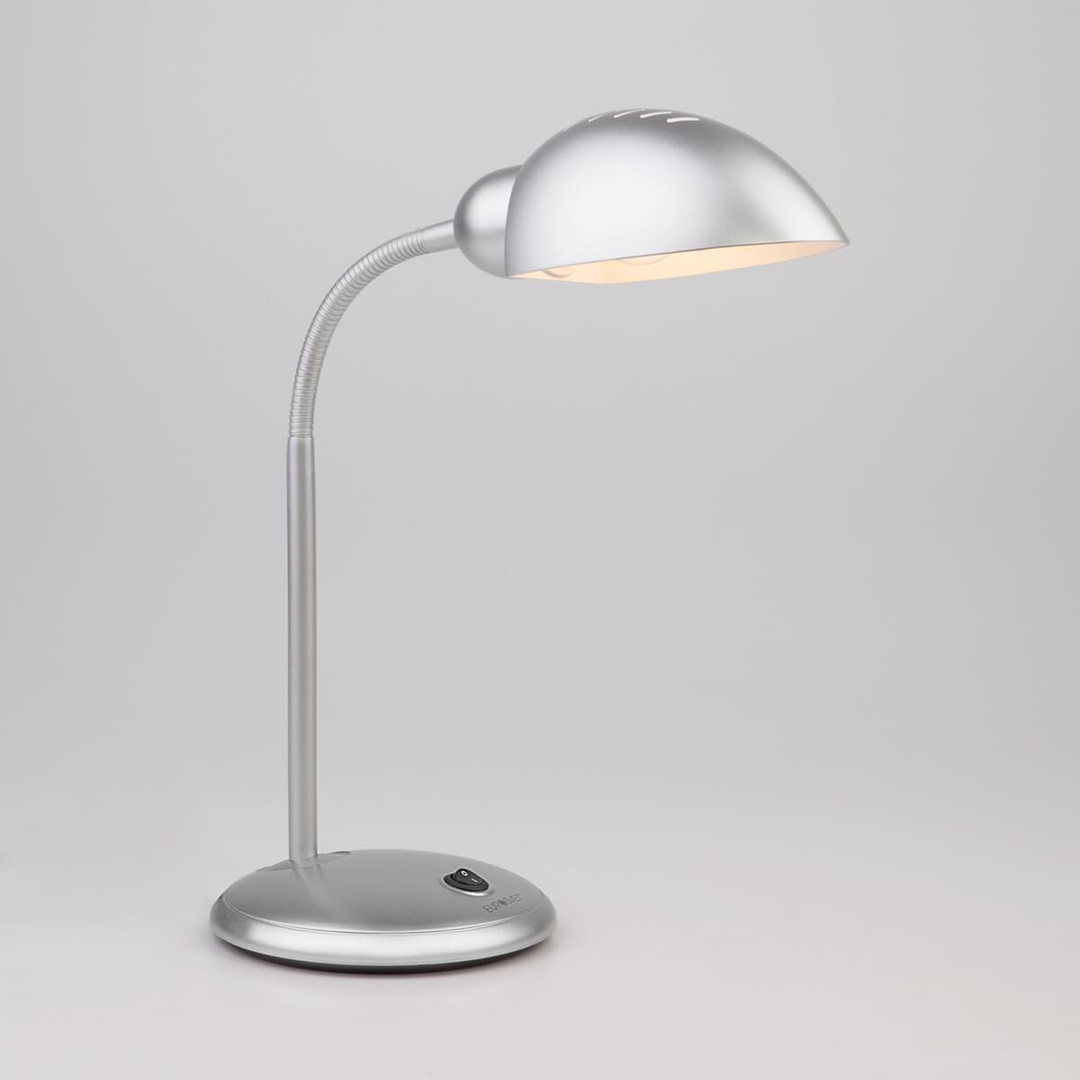 Настольная лампа Eurosvet 1926 серебристый 1926 настольная лампа eurosvet 1926 серебристый 1926