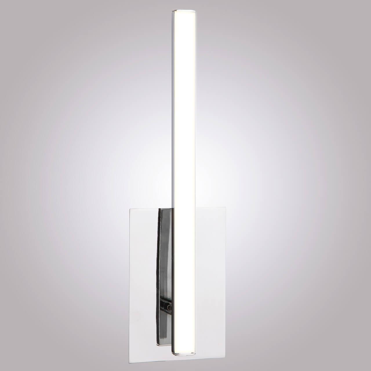 цена на Настенный светодиодный светильник Eurosvet Хай-Тек 90020/1 хром