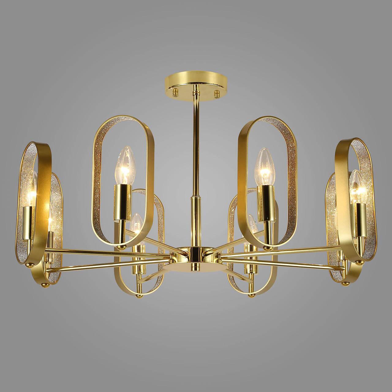 Люстра Eurosvet 60077/8 золото Maglia