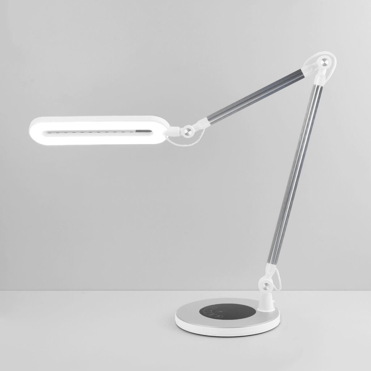 Настольная лампа Eurosvet 80420/1 серебристый Modern (Сенсорное управление) фото