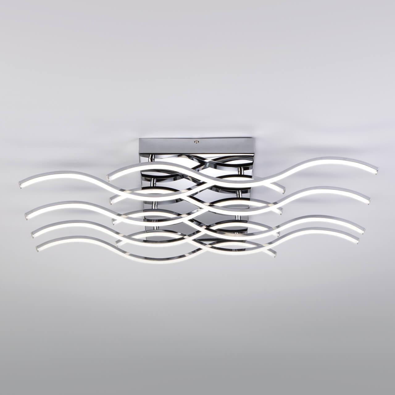Потолочный светодиодный светильник Eurosvet Petrel 90122/8 хром