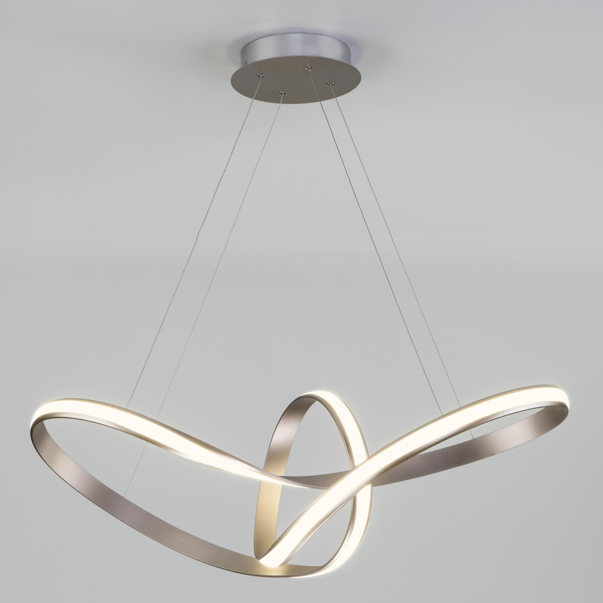 Светильник Eurosvet 90174/1 сатин-никель Kink
