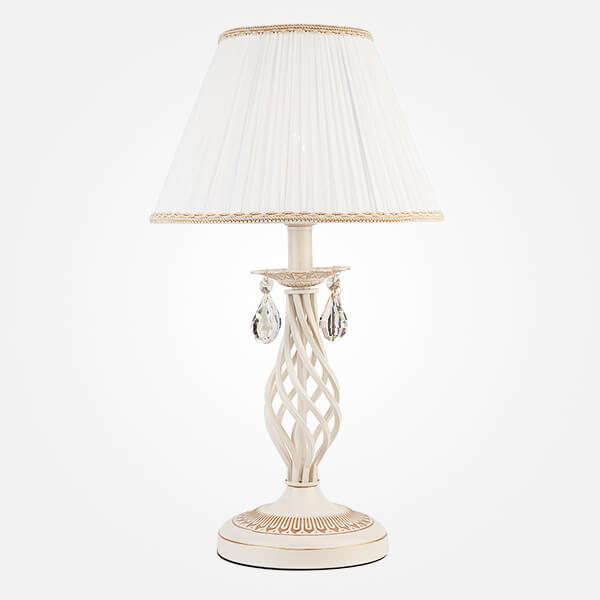 Настольная лампа Eurosvet 10054/1 белый с золотом/прозрачный хрусталь Strotskis Amelia fielding henry amelia 1