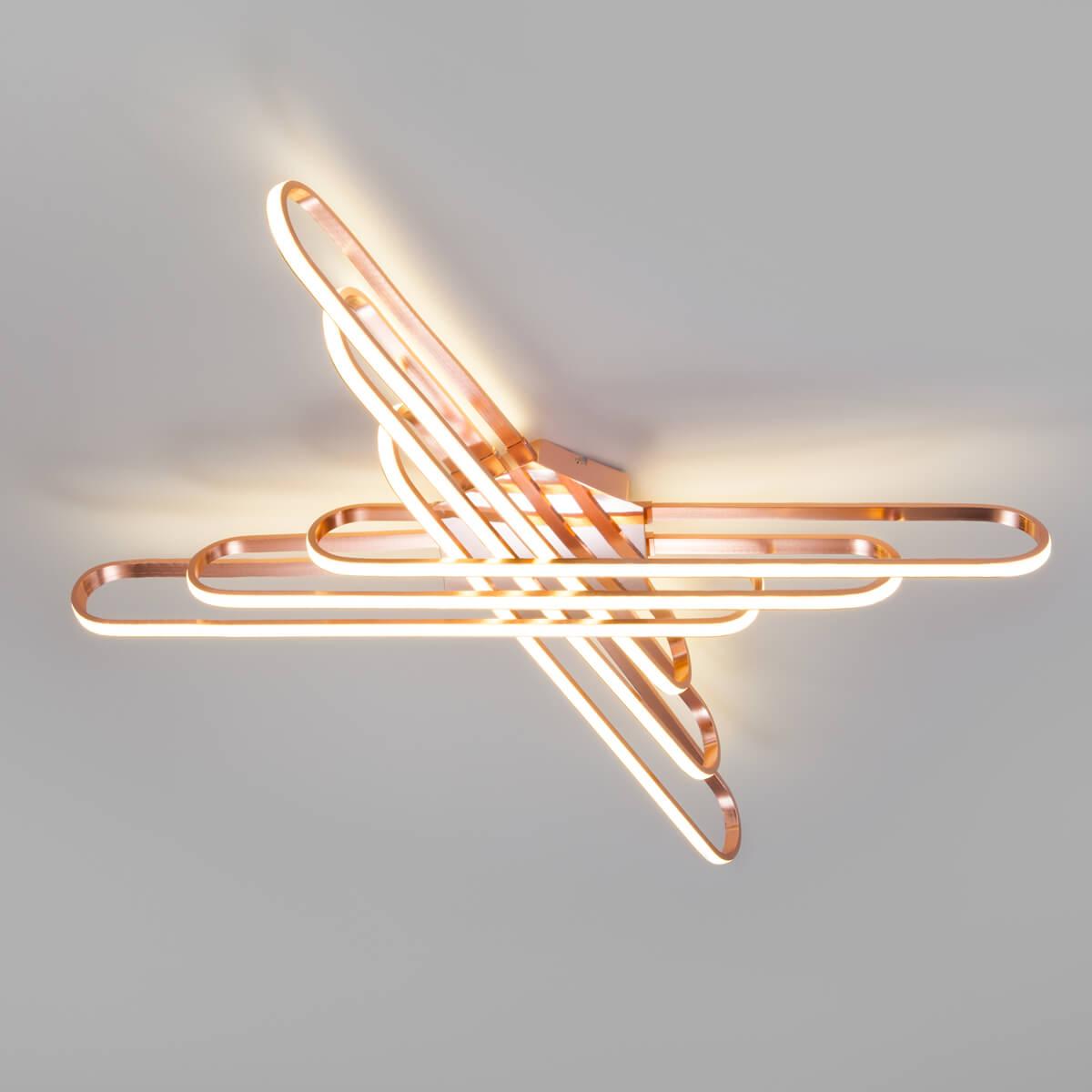 Светильник Eurosvet 90133/6 розовое золото Staple