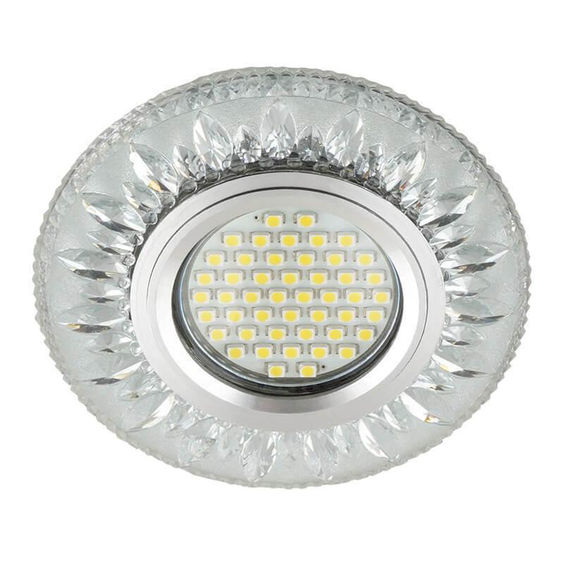 Светильник Fametto DLS-L141 Gu5.3 Glassy/Clear Luciole 141 светильник fametto dls l127 2001 luciole chrome glass