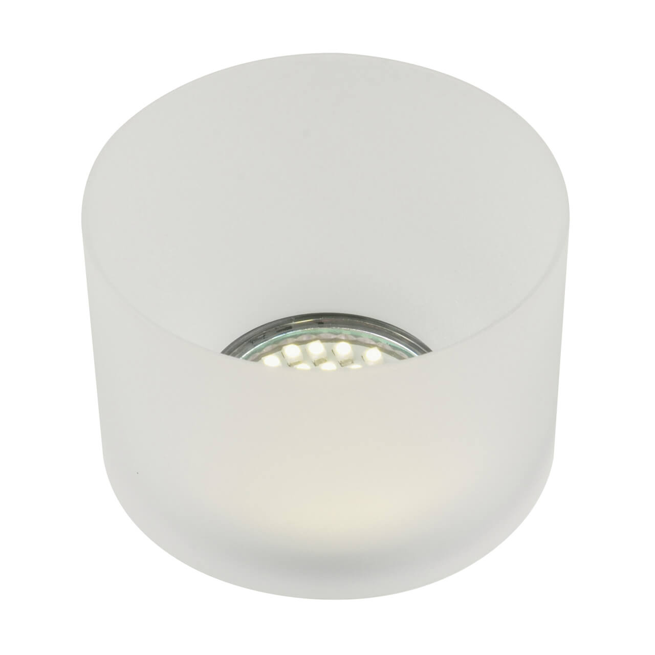 Встраиваемый светильник Fametto Nuvola DLS-N102 GU10 white/mat штатив deluxe dls 100b black white