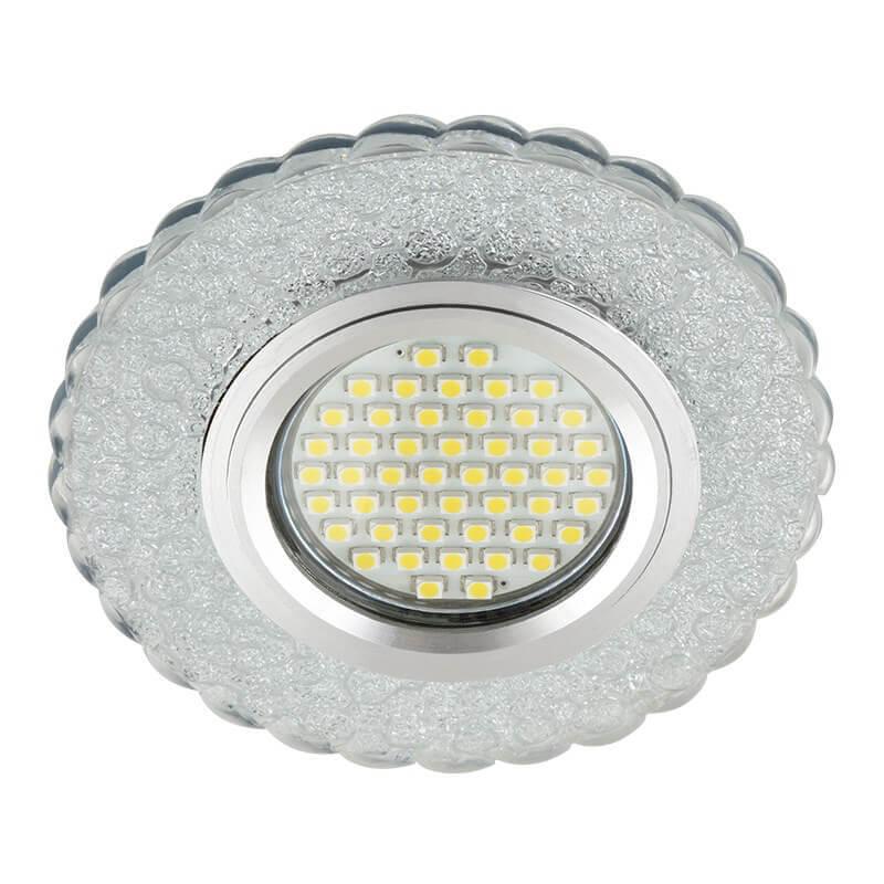 Светильник Fametto DLS-L140 Gu5.3 Glassy/Clear Luciole 140 светильник fametto dls l127 2001 luciole chrome glass