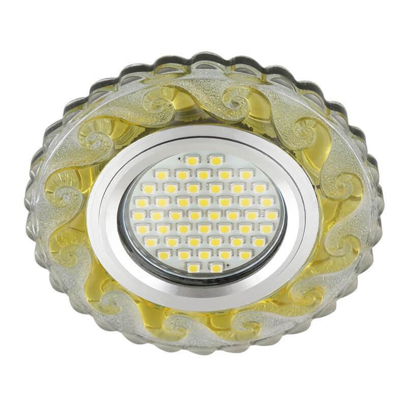 Светильник Fametto DLS-L139 Gu5.3 Glassy/Gold Luciole 139