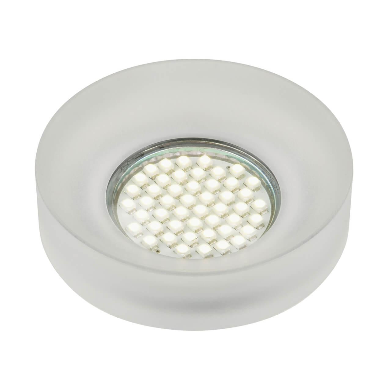 Встраиваемый светильник Fametto Nuvola DLS-N101 GU10 white/mat штатив deluxe dls 100b black white