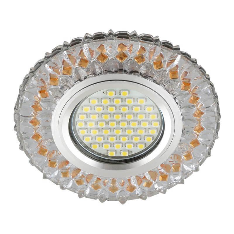 Светильник Fametto DLS-L138 Gu5.3 Glassy/Light Tea Luciole 138 светильник fametto dls l127 2001 luciole chrome glass