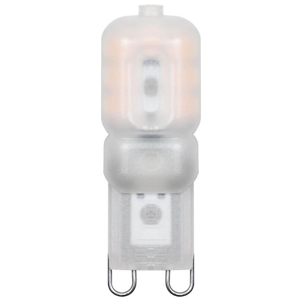 Лампа светодиодная Feron G9 5W 2700K Прямосторонняя Матовая LB-430 25636 цены
