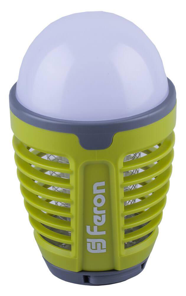 цена на Кемпинговый антимоскитный светодиодный фонарь Feron TL850 аккумуляторный 155х90 32874