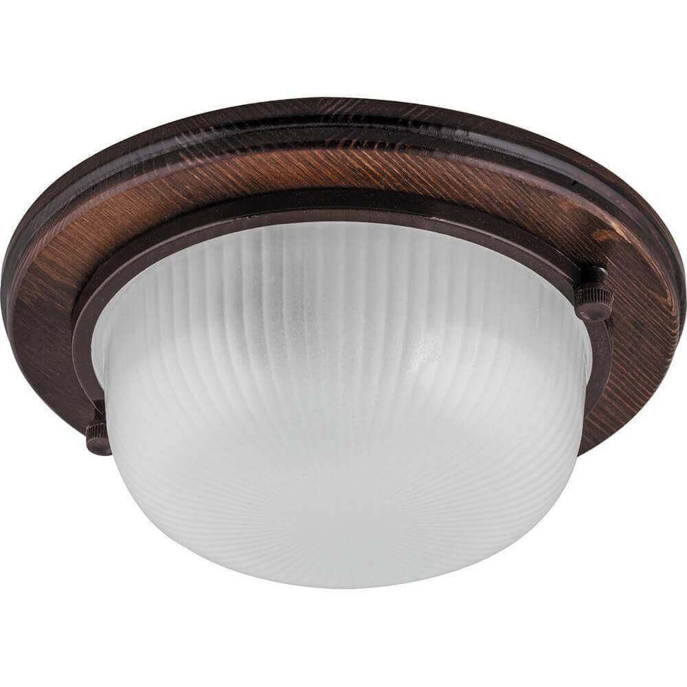 цена Настенно-потолочный светильник Feron НБО 0360021 11573 онлайн в 2017 году