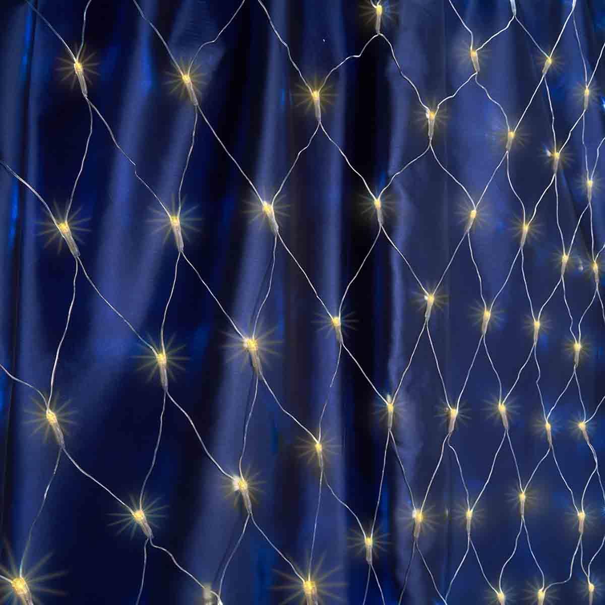 все цены на Светодиодная гирлянда Feron Сеть 2х2м 240LED теплый белый с мерцанием CL30 32360 онлайн