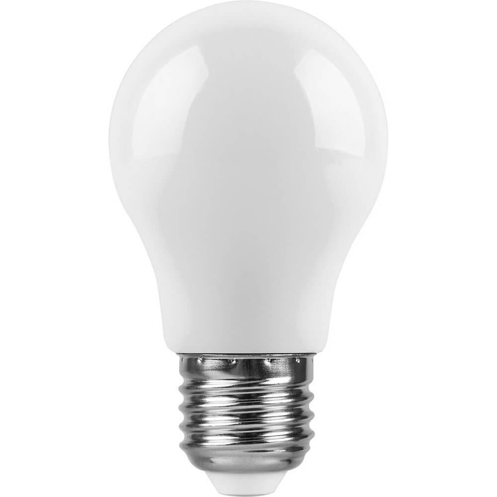Лампа светодиодная Feron E27 3W 6400K Шар Матовая LB-375 25920