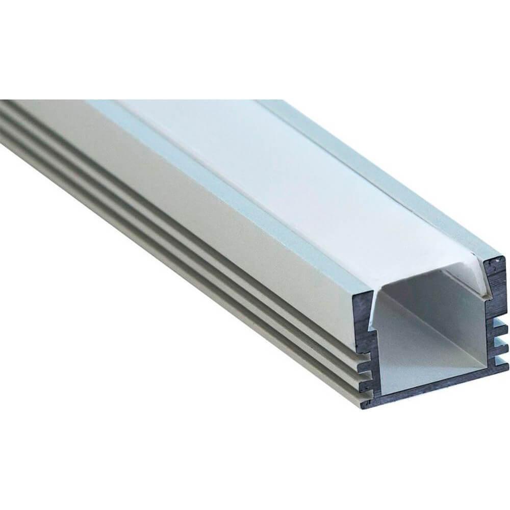 Профиль алюминиевый накладной Feron CAB261 10266 feron накладной светильник feron 28935