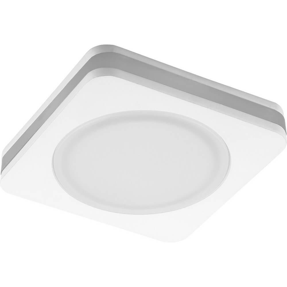 Встраиваемый светодиодный светильник Feron AL601 28906 панель светодиодная rev round накладная настенно потолочная 24 w 4000 к диаметр 30 см 28906 7