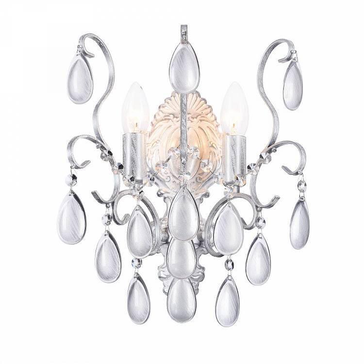 Бра Freya FR2302WL-02S Chabrol White Silver