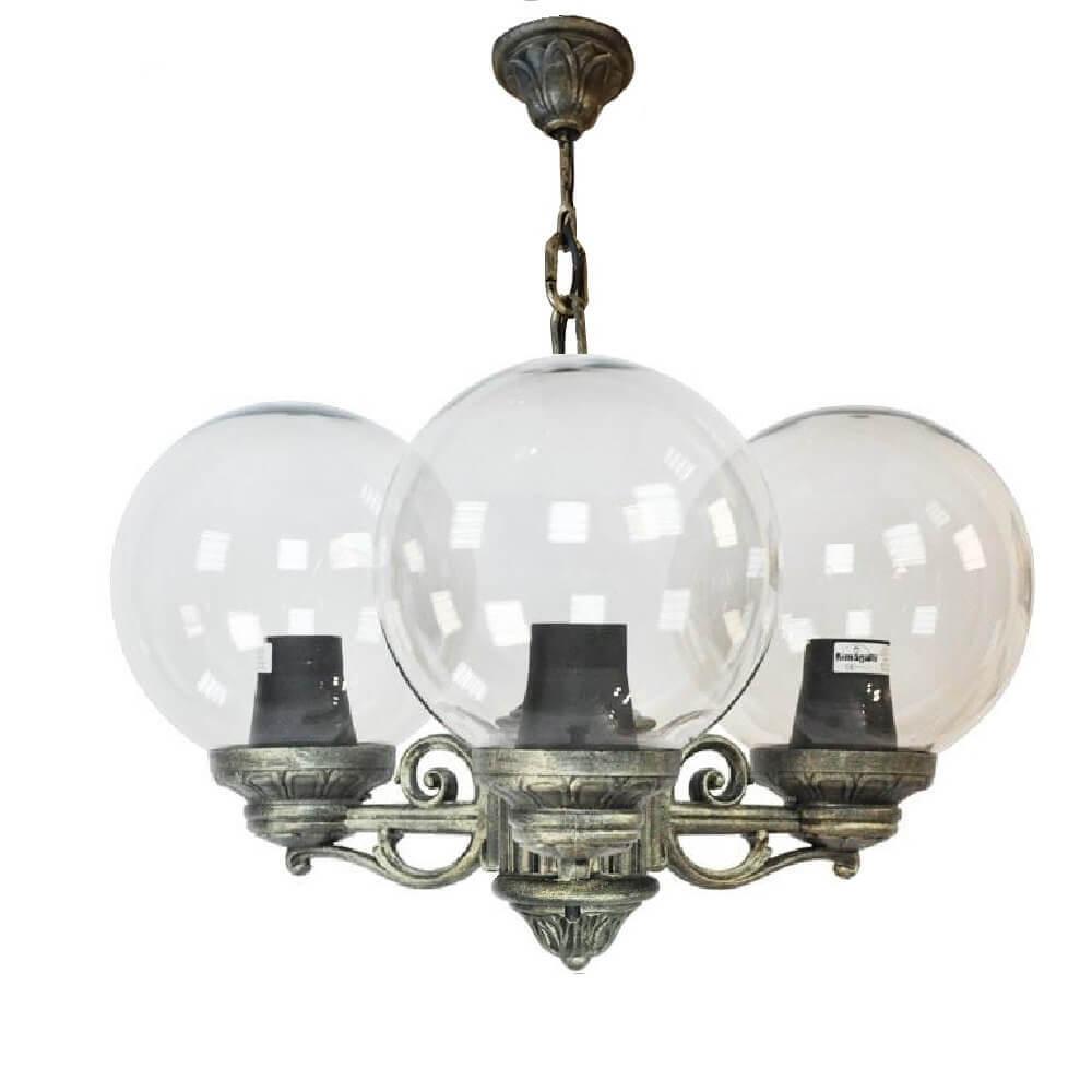 Уличный подвесной светильник Fumagalli Sichem/Bisso/G250 3L G25.120.S30.BXE27 цена и фото