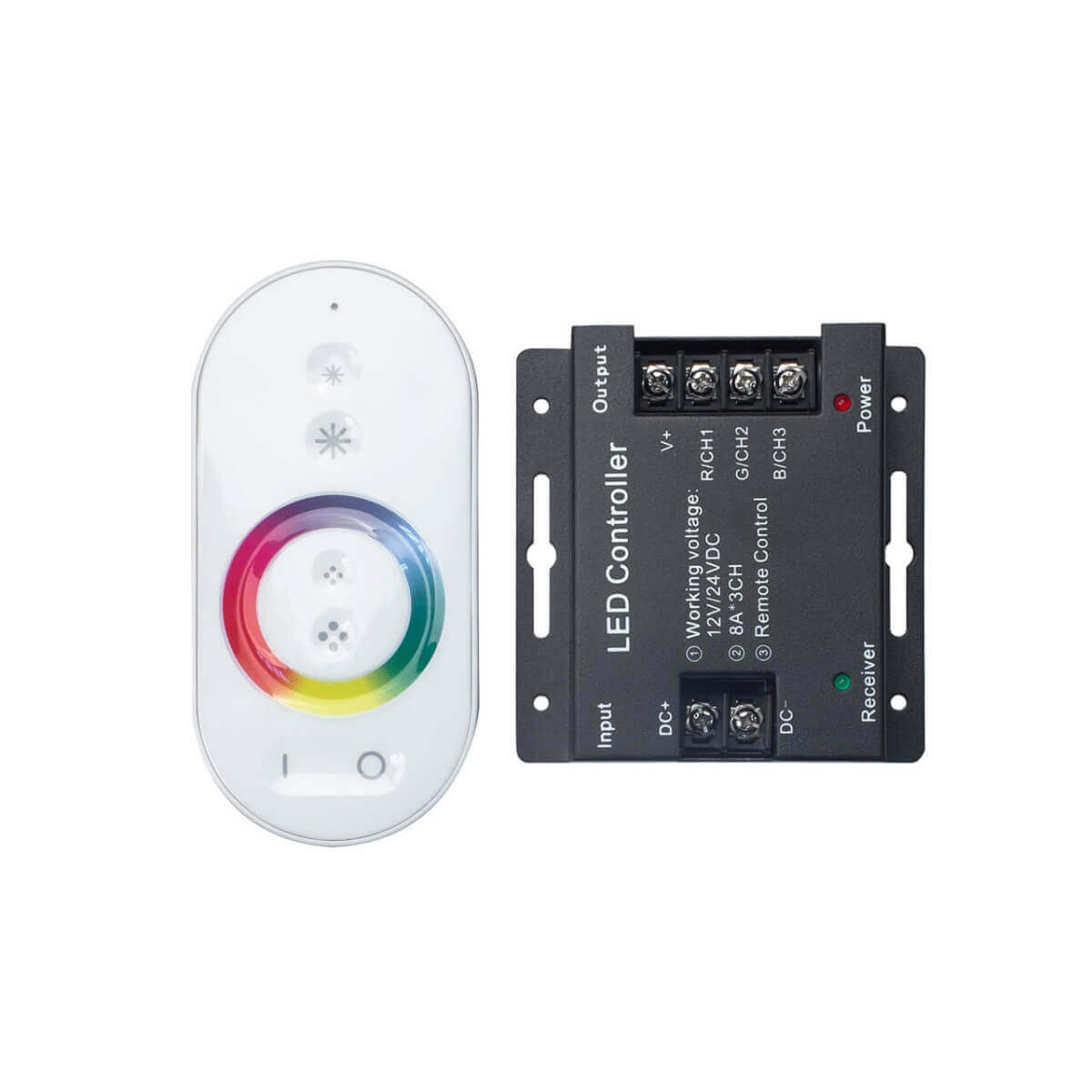 Контроллер Gauss для светодиодной ленты RGB 201013288 arlight контроллер для светодиодной ленты arlight 020329