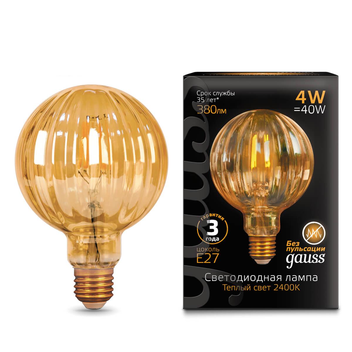 Лампочка Gauss 147802004 Vintage лампочка gauss 172209