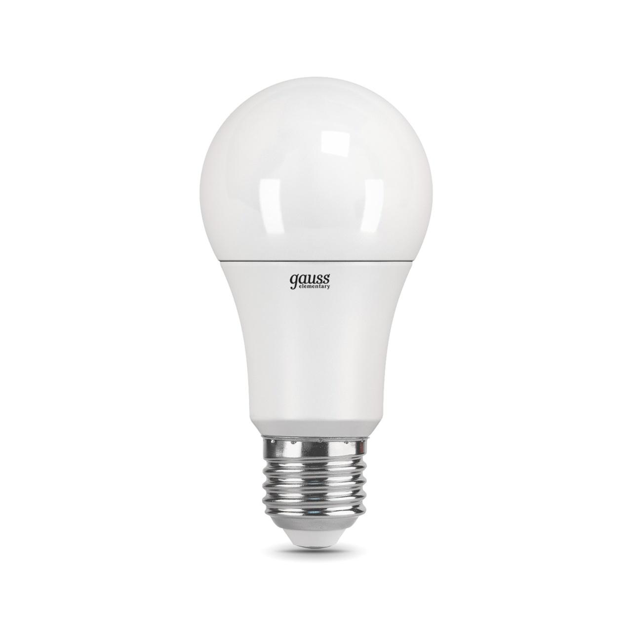 цена Лампочка Gauss 23215 Elementary A60 онлайн в 2017 году