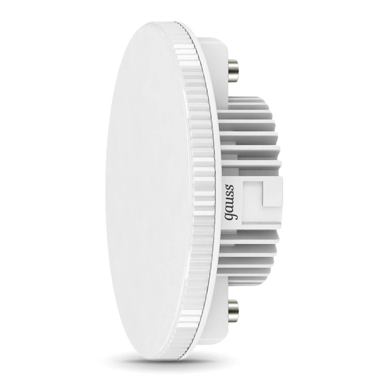 купить Лампа светодиодная Gauss GX53 6W 3000K матовая 108008106 по цене 265 рублей