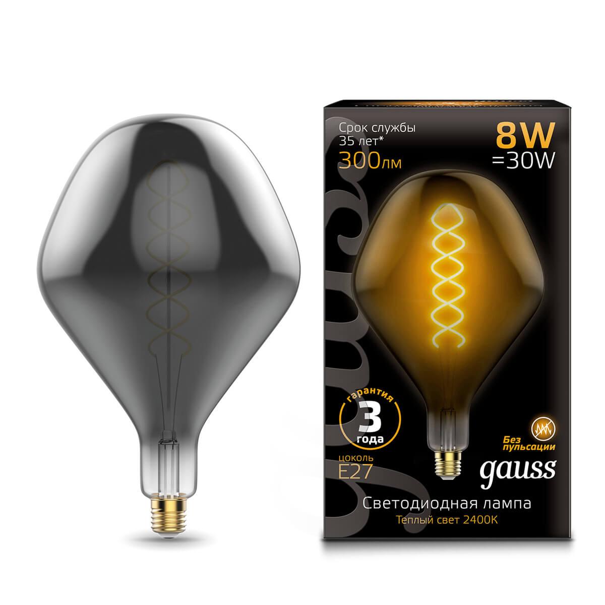 Лампочка Gauss 163802008 Loft лампочка gauss 1006802104 artline