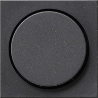 Лицевая панель Gira System 55 диммера поворотного антрацит 065028