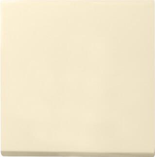 Лицевая панель Gira System 55 выключателя одноклавишного кремовый глянцевый 029601