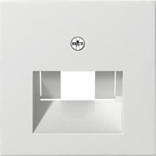 Лицевая панель Gira System 55 розетки компьютерной ISDN чисто-белый глянцевый 027003 casio sgw 600h 1b
