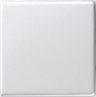 Лицевая панель Gira System 55 выключателя одноклавишного чисто-белый глянцевый 029603