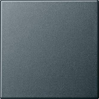 Лицевая панель Gira System 55 выключателя одноклавишного антрацит 029628