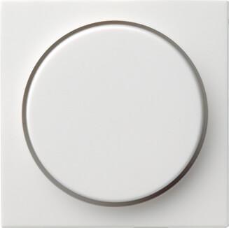 Лицевая панель Gira System 55 диммера поворотного чисто-белый глянцевый 065003