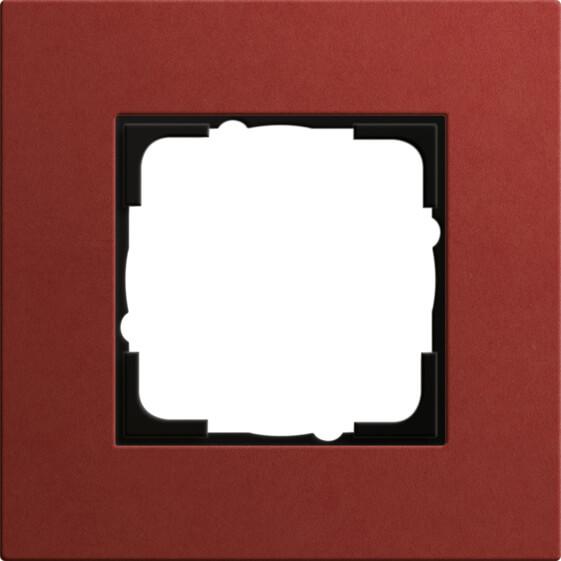 Рамка 1-постовая Gira Esprit Lenoleum-Multiplex красный 0211229 esprit esprit esrg 91437 a