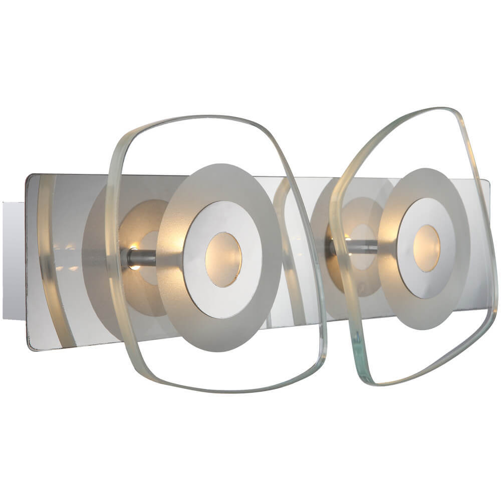 Настенный светодиодный светильник Globo Zarima 41710-2 настенный светильник бра коллекция amoena 56444 3 хром globo глобо