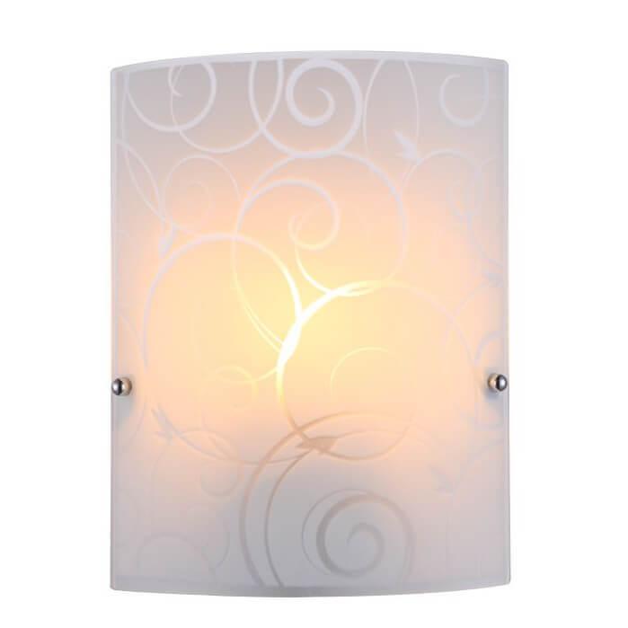 Настенный светильник Globo Maverick 40491-1W настенный светильник бра коллекция amoena 56444 3 хром globo глобо