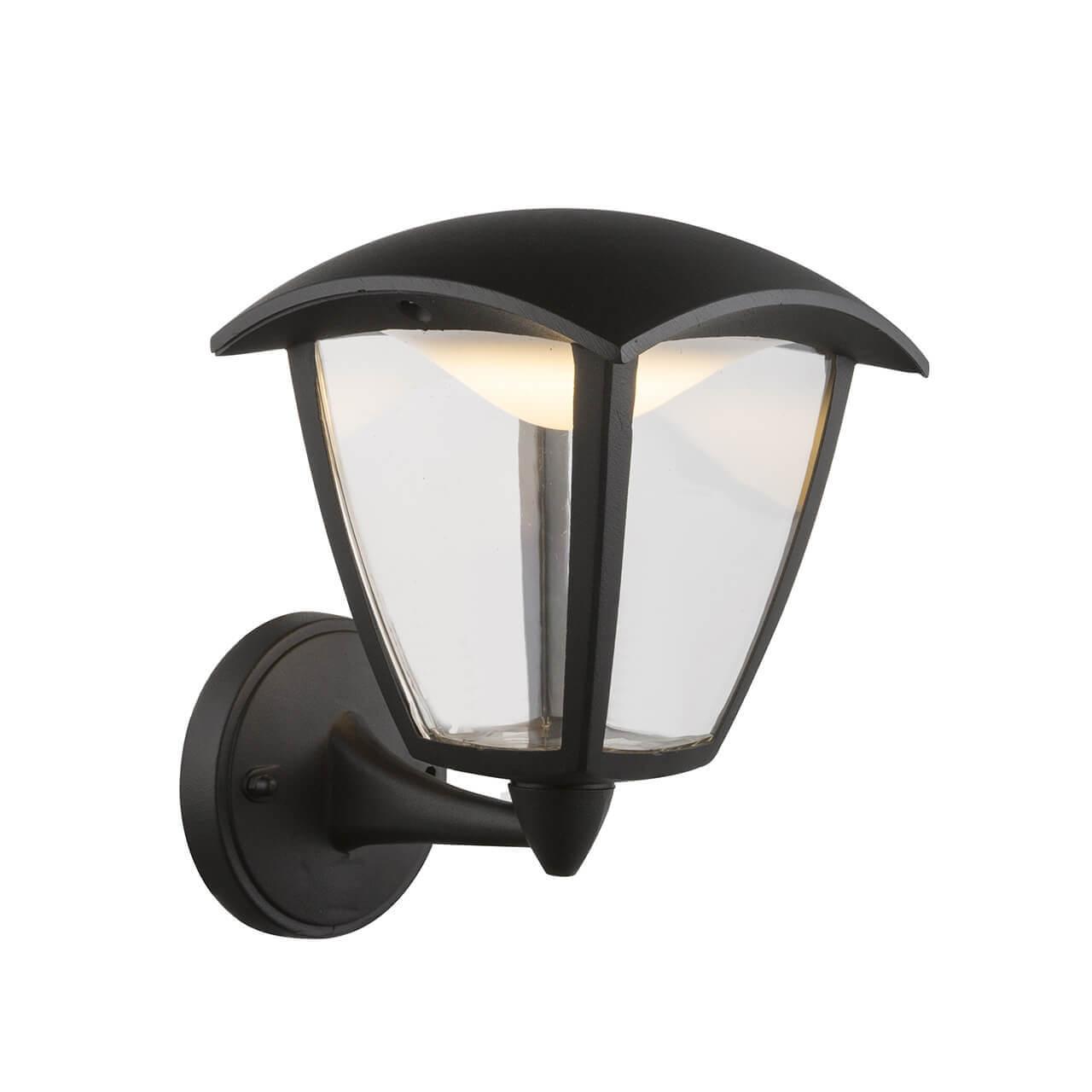 Уличный настенный светодиодный светильник Globo Delio 31825 globo фонарный столб globo delio 31828